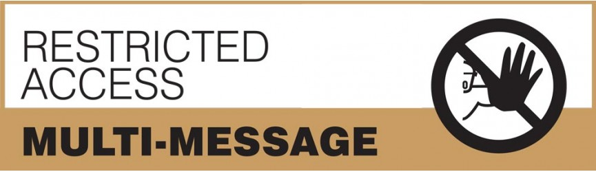 Restricted Access Multi-Message