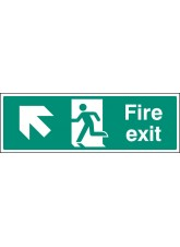 Fire Exit - Up and Left