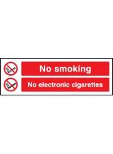 No Smoking No Electronic Cigarettes