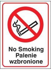 No Smoking (English/polish)