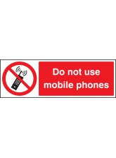 Do Not use Mobile Phones