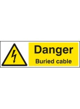Danger Buried Cable