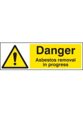 Danger Asbestos Removal in Progress