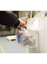 PPE Dispenser - Respirators Must Be Worn