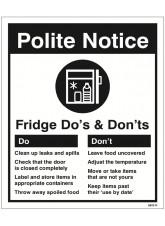 Refrigerator - Do's & Don'ts