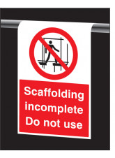 Roll Top - Scaffolding Incomplete, Do Not use