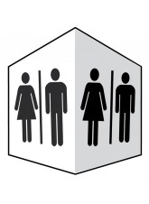 Toilets - Projecting Signs