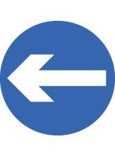Direction Arrow Left / right - Class R2 Permanent