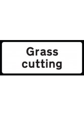 Grass Cutting Supp Plate - Class RA1 - 850 x 355mm