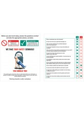 Pocket Guide Site Safety Induction (Pack of 10) 75x90mm
