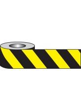 Self Adhesive Hazard Tape - 33m x 50mm - Black/yellow