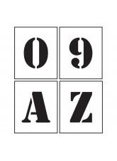 Stencil Kit - A-Z & 0-9
