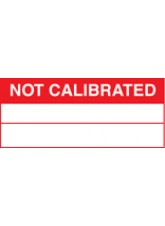 Roll of 100 Not Calibrated Labels - 50 x 20mm