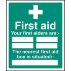 First Aiders the Nearest First Aid BoxIs Situated