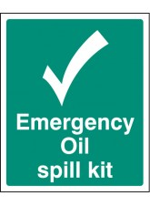 Emergency Oil Spill Kit