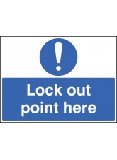 Lockout Point Here