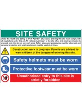 Site Safety - H&S Act