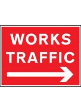 Works Traffic - Arrow Right