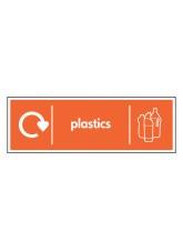WRAP Recycling Sign - Plastics